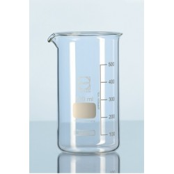 Beaker 250 ml Duran tall form graduation spout pack 10 pcs.