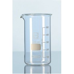 Beaker 2000 ml Duran tall form graduation spout pack 10 pcs.