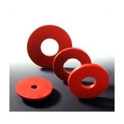 Filterformscheibe Naturkautschuk rot Ø innen/außen 35/75 mm
