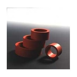 Rubber Cuffs for Filtering Natural Rubber red Ø inside/outside
