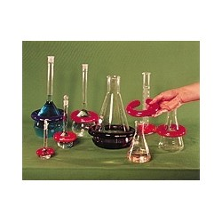 LAB-Rings plumb PVC coated for flask 200...500 ml 900 g