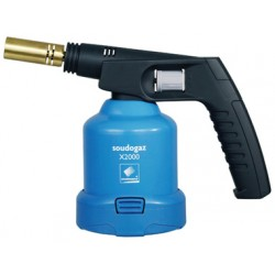 Brazing lamp Soudogaz®x2000 for gas cartridge C 206
