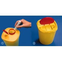Pojemnik na odpady 0,7L PP sterylizowalnyW +121°C op. 20 szt