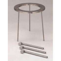 Tripods 18/10 steel detachable HxØ 210x120 mm