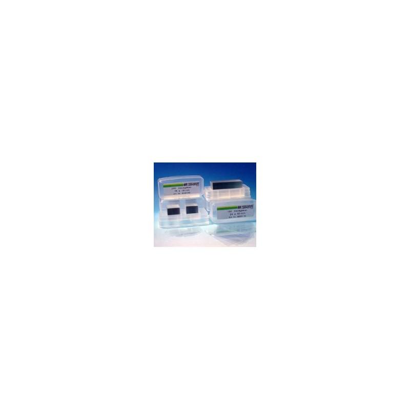 Szkiełko nakrywkowe 15x15 mm grubość 0,13…0,17 mm CE IVD 98/79