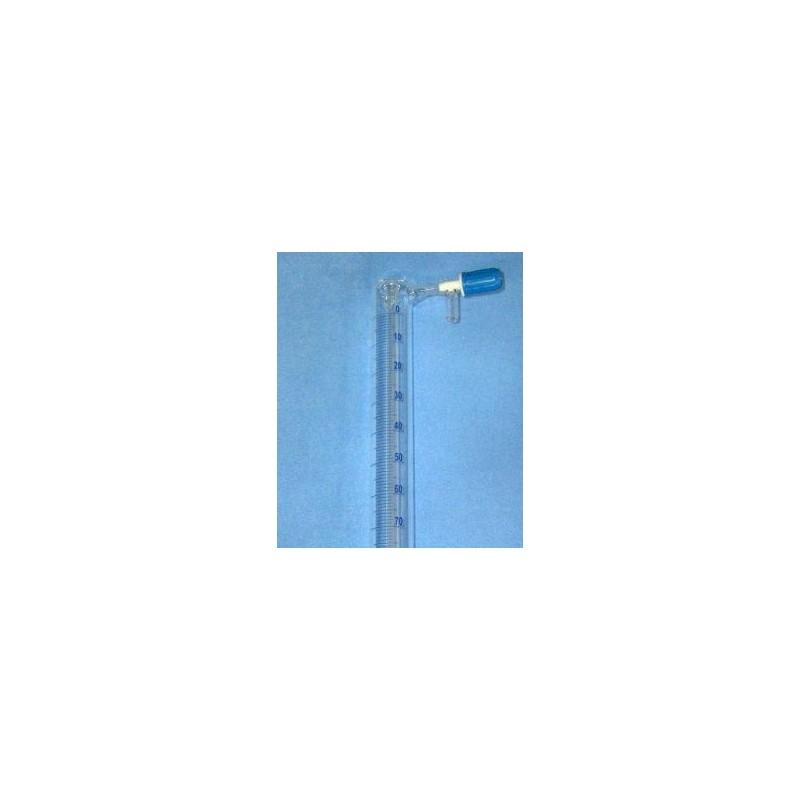 Eudiometer biurette 400 ml in 1ml to determine the fermentation
