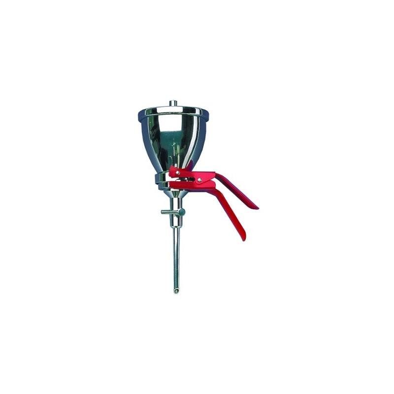 Siebfilter Typ MV050/0 Edelstahl Aluminiumklammer Anschluss für