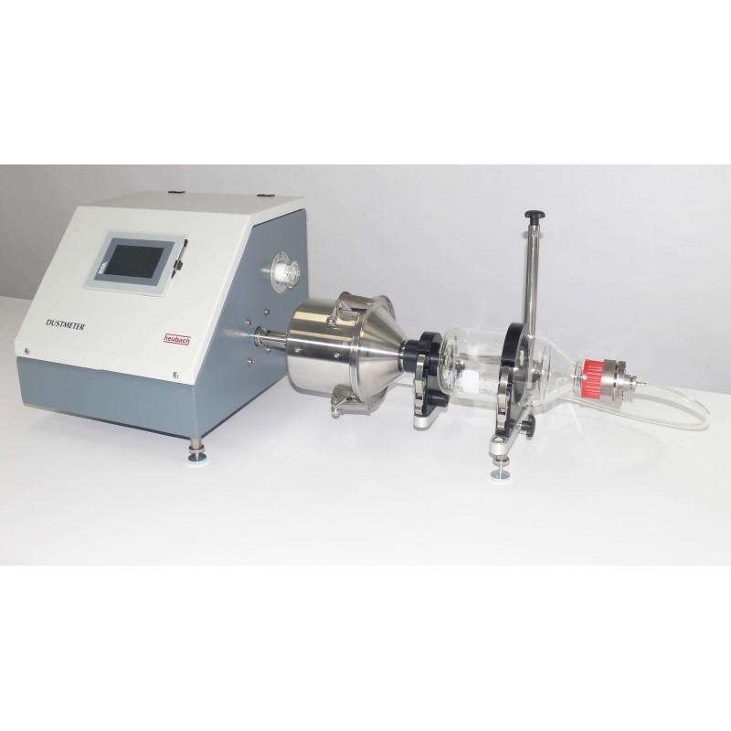 HEUBACH – Dustmeter Typ I Controlunit w. accesories for powdery
