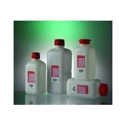 Flasche für Wasserproben 500 ml HDPE mit Natriumthiosulphat