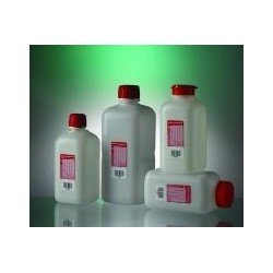 Water sample bottle 500 ml HDPE with Sodium Thiosulphate steril