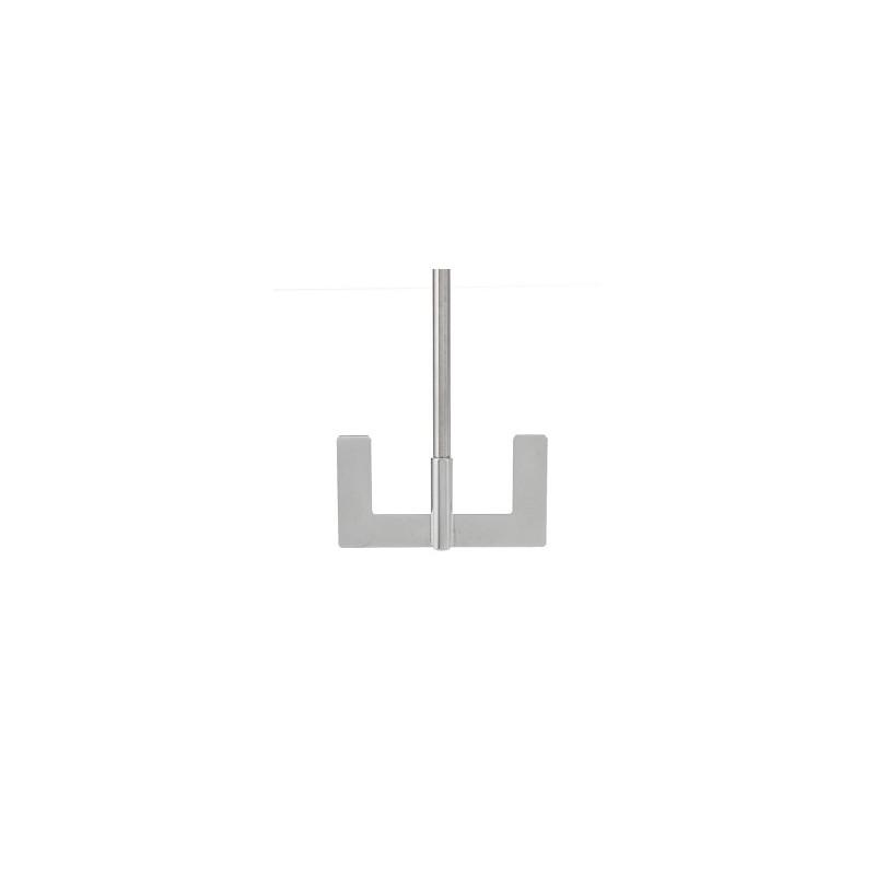 Anchor stirrer 18/10 Stainless length 500 mm Ø 8 mm D1 70 mm