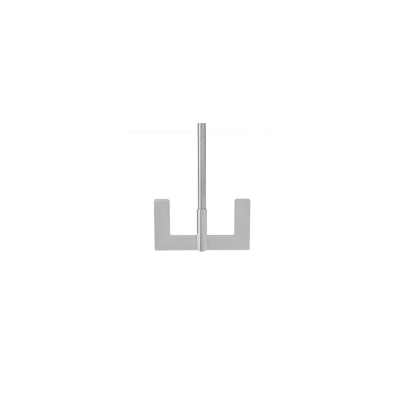 Anchor stirrer 18/10 Stainless length 650 mm Ø 10 mm D1 90 mm