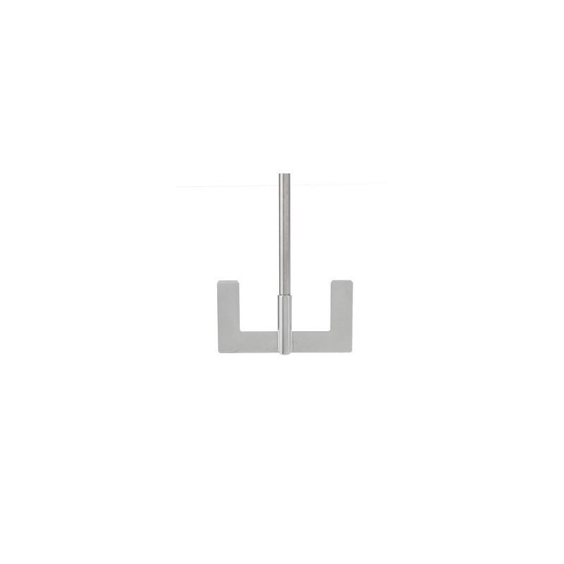 Ankerrührer 18/10 Stahl Länge 650 mm Ø 10 mm D1 90 mm