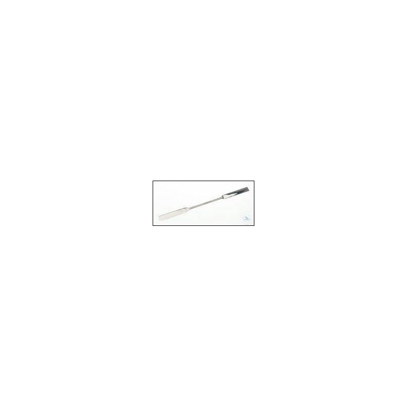 Doppelspatel 18/10 Stahl LängexBreite 300x16 mm