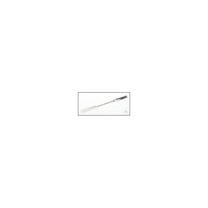 Double spatulas 18/10 steel lengthxwidth 300x16 mm