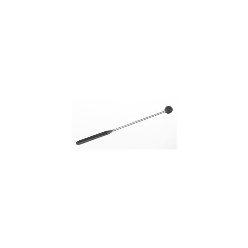 Knopfspatel 18/10 Stahl LängexBreite 210x11 mm
