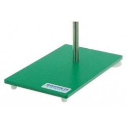 Stand bases steel varnished L x W x H 250x160x8 mm weigth 2,6 kg