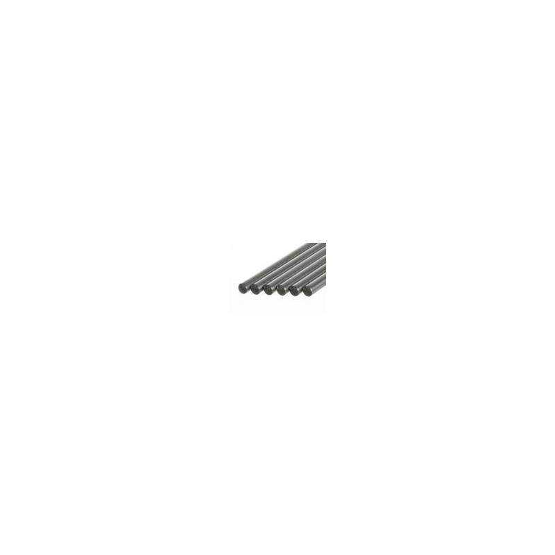 Pręt statywowy bez gwintu stal 18/10 D x śr. 1250 x 13 mm