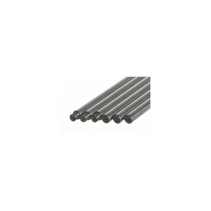 Pręt statywowy bez gwintu stal 18/10 D x śr. 1250 x 16 mm