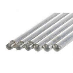 Pręt statywowy z gwintem M10 aluminiowy D x śr. 500 x 12 mm