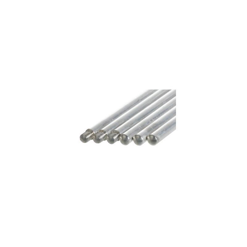 Pręt statywowy bez gwintu aluminiowy D x śr. 1000 x 12 mm
