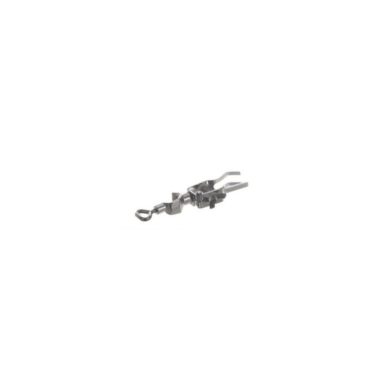 Bürettenklemme einseitig 18/10-Stahl Finger mit Silikonüberzug