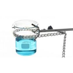 Chain clamp 18/10 steel silicone coating chain 70 cm