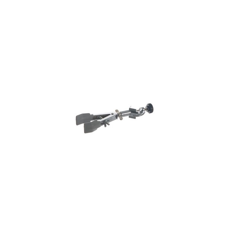 Büretten- und Kolbenklemme mit verstellbarer Muffe(16,5mm) PVC