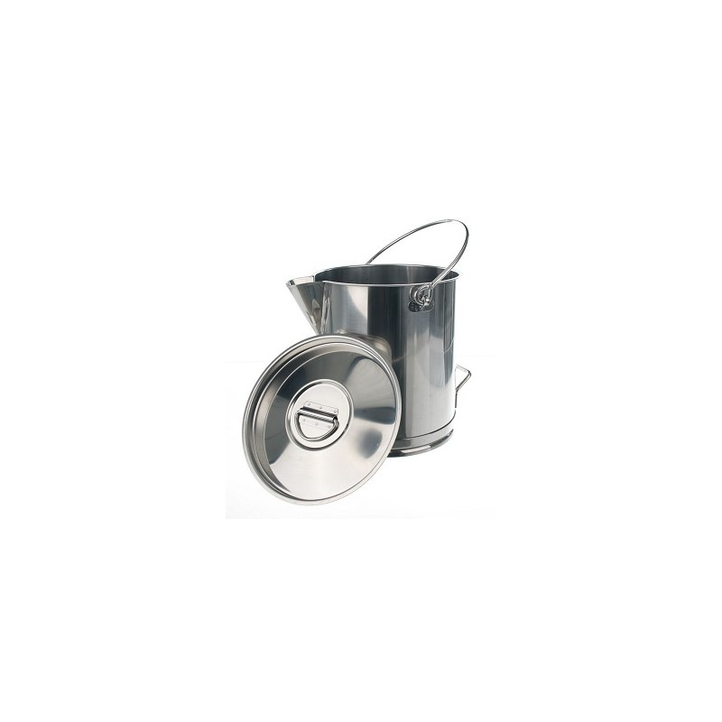 Measuring jug graduated 18/10 stainless 10L without Lid