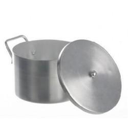 Garnek laboratoryjny z pokrywką aluminium 5,2 L