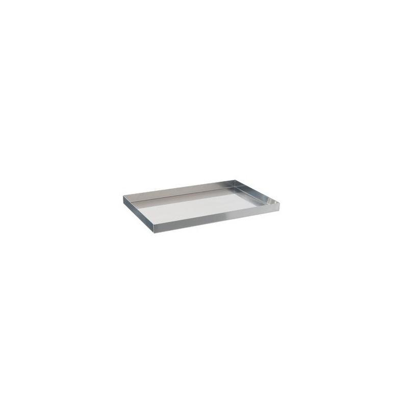 Instruments tray 18/10 steel 300x200x15 mm