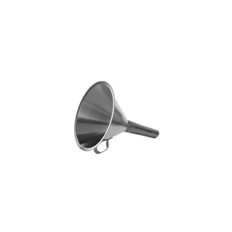 Trichter 18/10-Stahl Höhe 190 mm Ø 150/21 mm mit Griff und