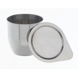 Crucibles 270 ml Ni 99,6 % without lid HxØ 80x80 mm thickness 1