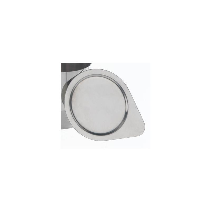 Deckel Stahl 18/10 für Tiegel HxØ 35x35 mm