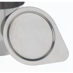 Deckel Stahl 18/10 für Tiegel HxØ 35x40 mm