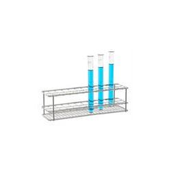 Reagenzglasgestell 18/10 elektropoliert LxBxH 130x90x70 mm