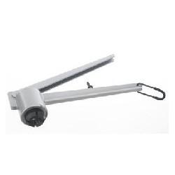 Closing tong with adjust screw for 13 mm aluminium caps