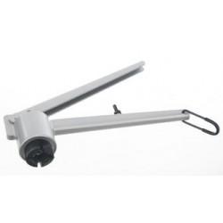 Opening tong for 8 mm aluminium caps