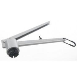 Opening tong for 20 mm aluminium caps
