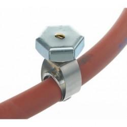 Schlauchschelle 18/10 Stahl Ø 17 mm