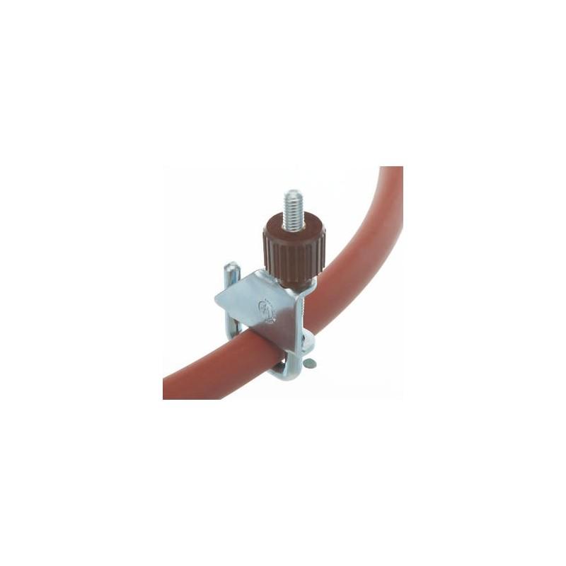 Quetschhahn Kunststoffschraube verzinkt Ø 10 mm