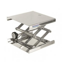 Hebebühne 240x240 mm 18/10 Stahl 60…275 mm zulässige Belastung