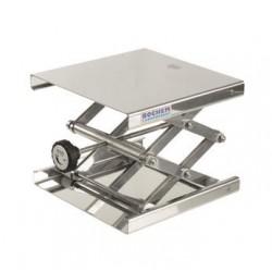 Hebebühne 300x300 mm 18/10 Stahl 90…470 mm zulässige Belastung