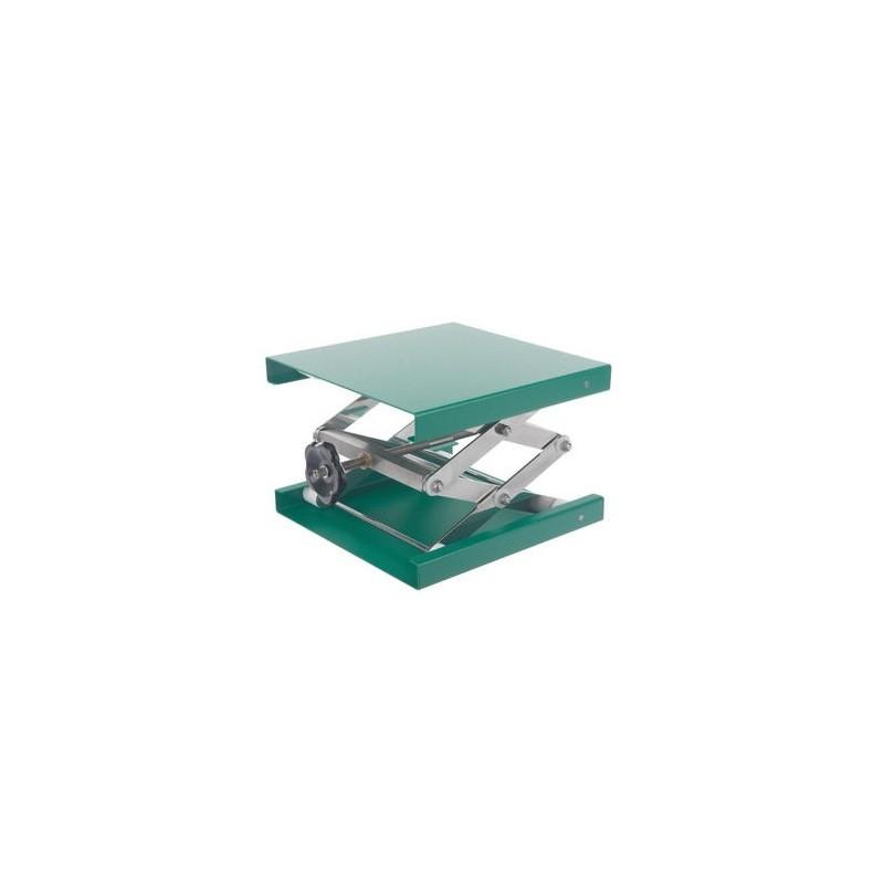 Hebebühne 160x130 mm Alu-Grün 60…275 mm zulässige Belastung 30