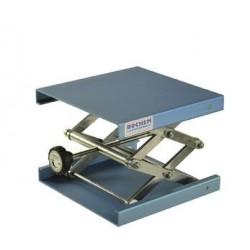 Hebebühne 300x300 mm Alu-eloxiert 90…470 mm zulässige Belastung