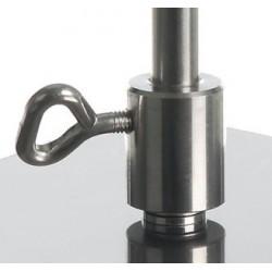Buchsen für Stativstangen ohne Gewinde 18/10-Stahl Ø 12 mm