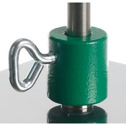 Sockets for rods without thread Tempered cast iron Ø 12/13