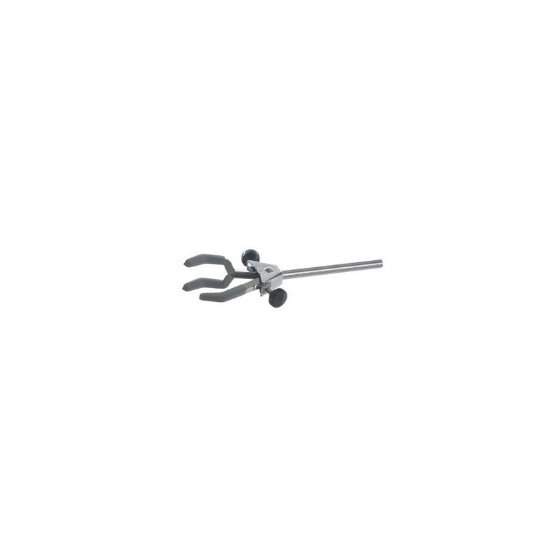 3-finger clamps with shaft Finger PVC coated 0-60 mm