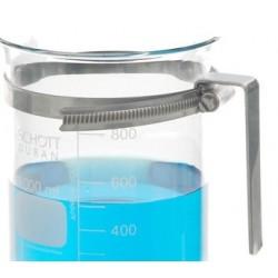 Uchwyt do zlewek szklanych o średnicy 170...195 mm stal