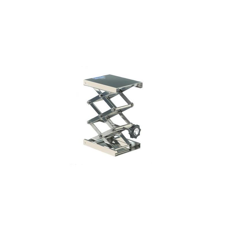 """Hebebühne """"Maxi"""" 18/10 Stahl 160x130 mm 75…400 mm zulässige"""
